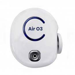 Generator de Ozon Air O3, Purificator Aer cu Ozon, Deodorizant, Sterilizator, Elimina Mirosuri, Fum, Bacterii, Culoare alb