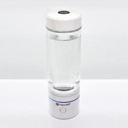 Generator de apa cu hidrogen Ionizator LifeCup Molecular H800, Alb,  cu tehnologie SPE și PEM, Pahar portabil cu Hidrogen, Inhalator