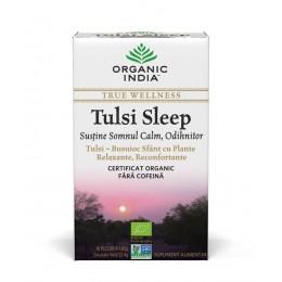 Ceai Tulsi Sleep cu Plante Relaxante, Reconfortante   Somn Calm, Odihnitor Plicuri