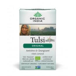 Ceai Tulsi (Busuioc Sfant) Original | Antistres Natural & Energizant Plicuri