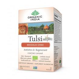 Ceai Tulsi (Busuioc Sfant) Masala Chai | Relaxant & Regenerant Plicuri