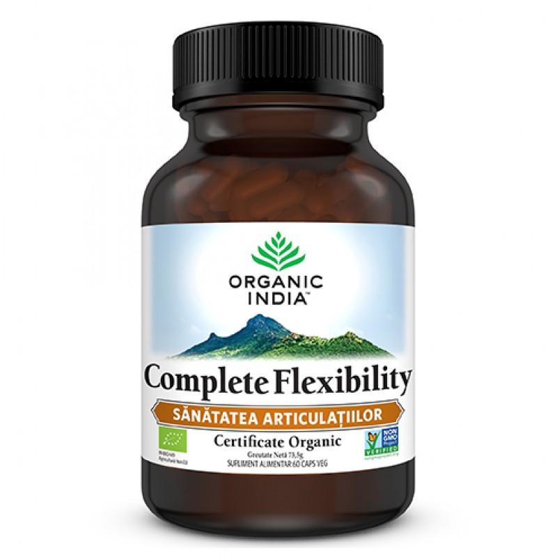 Complete Flexibility   Sanatatea Articulatiilor, 60 capsule vegetale