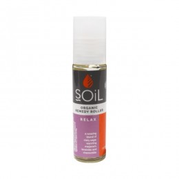 Roll-On Relax cu Uleiuri Esentiale Pure Organice ECOCERT 11 ml | Amestec Relaxant