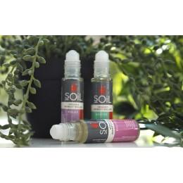 Kitul de Aromaterapia pentru momentele in care te deplasezi :Roll-On Relax, Roll-On Revive,  Roll-On Relief cu Uleiuri Esentiale Pure Organice ECOCERT