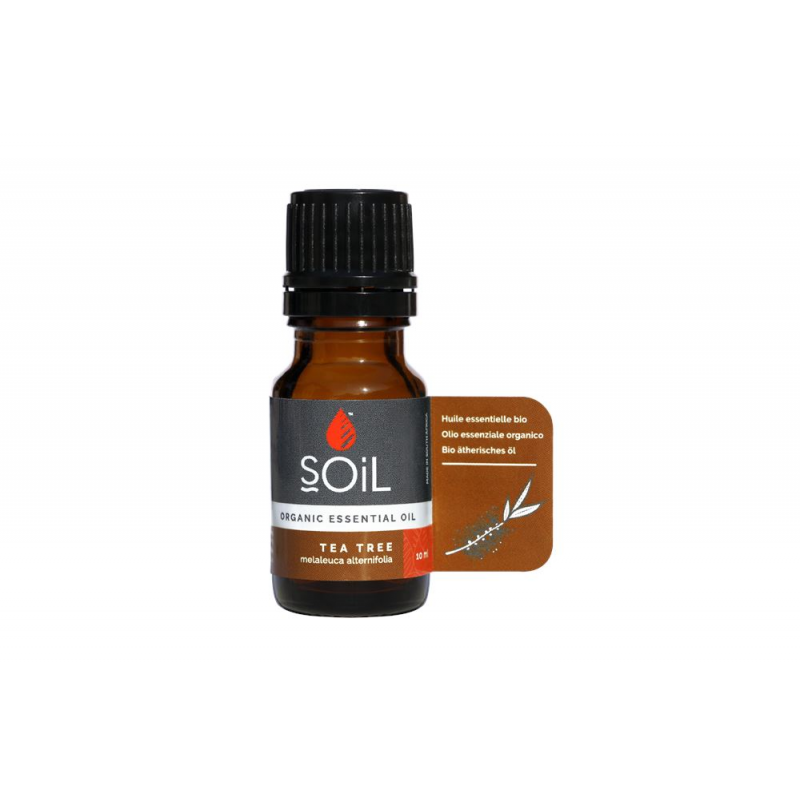 Ulei Esențial Arbore de Ceai Pur Organic ECOCERT 10 ml | Sănătatea Pielii
