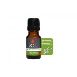 Ulei Esențial Lemongrass Pur Organic ECOCERT 10 ml | Uleiul Înălțător