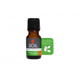 Ulei Esențial Busuioc Pur Organic ECOCERT 10 ml | Uleiul Inviorator