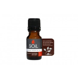 Ulei Esențial Piper Negru Pur Organic ECOCERT 10 ml | Uleiul Sportivilor