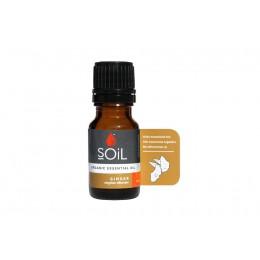 Ulei Esențial Ghimbir Pur Organic ECOCERT 10 ml  Uleiul Picant