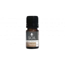 Ulei Esențial Lemn de Santal Pur Organic ECOCERT 2,5 ml | Uleiul Antivarice