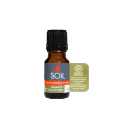 Amestec de Uleiuri Esentiale Immunity Pure 100% Organice ECOCERT 10 ml   Blend Imunitate